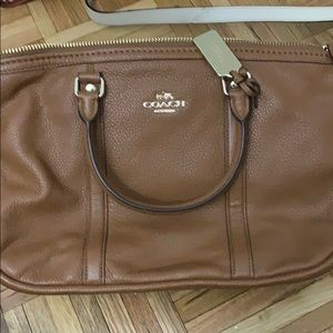 Coach brown purse